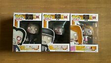 Funko Pop 3pcs TWD Walking Dead Zombies Tank 36 Prison Guard Walker 68 Penny 99