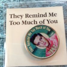 """NOS ELVIS MYSTIC COLORIZED QUARTER TOP 40 HITS """"THEY REMIND ME TOO MUCH OF YOU"""""""