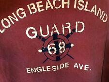 T-SHIRT  XL 100% Cotton BURG- LONG BEACH ISLAND ENGLESIDE AVE BEACH HAVEN, NJ  e