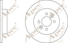 REAR BRAKE DISCS (PAIR) FOR RENAULT KANGOO EXPRESS GENUINE APEC DSK2402