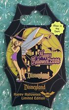 Disney Dlr - Spiderweb Collection 2006 (Tinker Bell) Le/1000 Glow Pin Moc