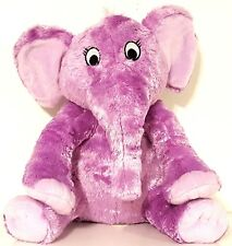 KOHL'S CARES THE NOSE BOOK by AL PERKINS Purple Elephant Plush Animal 11 inches
