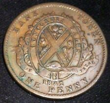 BANK OF MONTREAL  1842  PENNY .   Charton # PC-2B