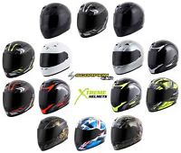 Scorpion EXO-R710 Helmet Fiberglass Full Face DOT SNELL M2015 Certified XS-2XL
