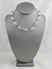SWAROVSKI SWAN TAG Single Strand AB CRYSTAL NECKLACE NEW WITH TAG Magnetic