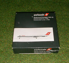 HERPA WINGS 1:500 SCALE AREOPLANE SWISSAIR McDONNELL DOUGLAS MD-81