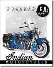 Indian Roadmaster 80 cartello metallo (de)
