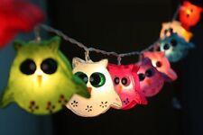 OWL BIRD FANCY LANTERN STRING PARTY,FAIRY,KID BEDROOM,HOME,CHILD,DECOR LIGHTS
