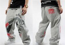 4FB Man HIP-HOP RAP Ecko Unltd SkateBoarding SweatPants Cotton Pants Trousers