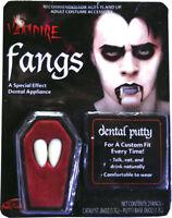 Morris Costumes Fangs Dentures Vampire. FW9083
