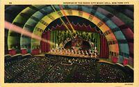 Vintage Postcard - 1941 Interior Of the Radio City Music Hall New York NY #4284
