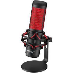 HyperX QuadCast, Mikrofon, schwarz