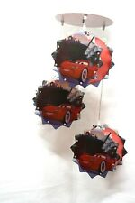 MACQUEEN CARS LAMP,CEILING LIGHT, CARTOON LAMP,DECORATION ROOMS,SHADE,CHANDELIER