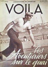 REPORTAGES PHOTOS VOILA 1939 QUAIS de MARSEILLE J. SABLON LUCRECE BORGIA SAUNA