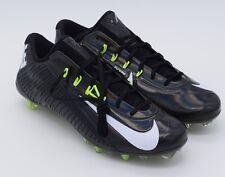 Nike Vapor Carbon Elite Football Cleats Black White Volt ( 631425-011 )