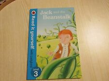 LADYBIRD BOOK READ IT YOURSELF  LEVEL 3 JACK AND THE BEANSTALK