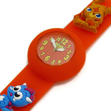 Moshi Monsters Charm Watch Interchangable Straps Katsuma Red Yellow Kids