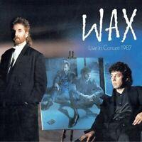 Wax - Wax Live In Concert 1987 [New CD] With DVD, NTSC Region 0, UK -