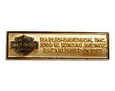 HARLEY DAVIDSON RARE Juneau Plaque HARLEY  PIN