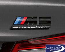 Original BMW f90 m5 Competition lettrage noir // M 5 LOGO BADGE LABEL Black