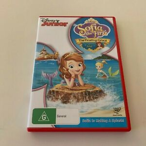 Sofia The First  The floating Palace  - Cartoons -  PAL DVD Region 4