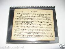 Marchando Carpeta/Folio A5 Espiral (7 Insertos 14 marchas)/viento banda de latón