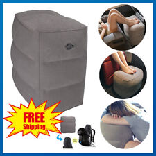 Inflatable Travel Foot Rest for Plane Car Bus Long Haul Flight Airplane Bed Kids