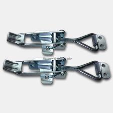 2x XL Spannverschluss m Haken Stahl Hebelverschluss Kistenverschluss Verschluss