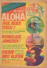 MAGAZINE ALOHA 1973 nr. 11  -  TIMOTHY LEARY & SIMON VINKENOOG