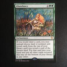 MTG Abundance Commander 2017 NearMint Magic The Gathering