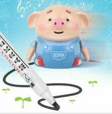 Cute Toy Pig Robot Education Toy improve creativity imagination Pen Inductive