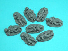 28mm WW2 German Infantry Casualties. Bolt Action, Chain of Command, unpainted