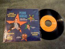 "Pedro Vargas Con Sus Amigos Various 7"" EP RCA Mexico MKE1224 VG++"