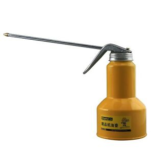 High Pressure Lubrication Feed Oil Can Spray Pot Pump Action Oiler Tool Auto