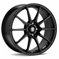 SPARCO ASSETTO GARA Alloy Wheel Rim Black Matt Renault Laguna 7.5x17 5x108 ET45