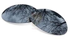 SURE Ersatzgläser für Oakley Eye Jacket 1.0  Polarisierte Black Iridium Linsen