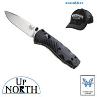 Benchmade 585 Mini Barrage Spring Assisted Knife w/ AXIS Lock and FREE HAT