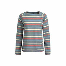 Cotton Square Neck Striped Tops & Shirts for Women