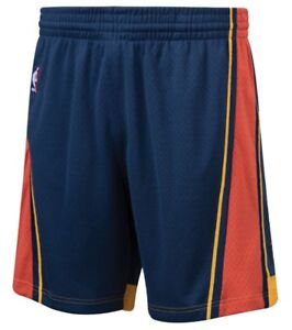Navy Blue Golden State Warriors Mitchell & Ness NBA Men's Swingman Shorts