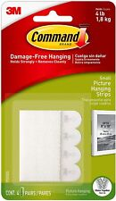 3M Command Strips Damage-Free Self Adhesive Wall Hanging Picture Frames Posters