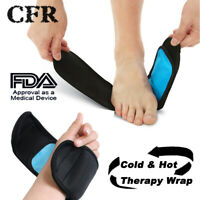 CFR Cold & Hot Wrap Therapy Wrist Foot Support Brace Ice Pack Injury Pain relief