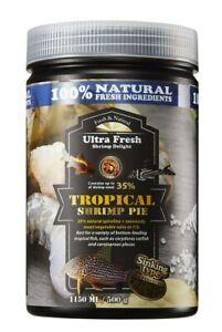 AZOO Ultra Fresh Tropical Shrimp Pie Corydoras Pleco Catfish Food