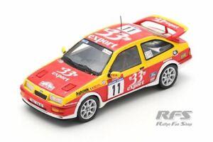 Ford Sierra RS Cosworth Rallye Tour de Corse 1987 Didier Auriol 1:43 Spark 8703