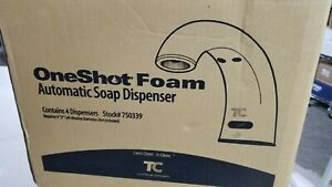 OneShot Foam Counter Mounted 750339 Electric Foam Soap Dispenser Faucet BOX OF 4