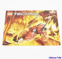 lego instruction de montage techniques Technic 8510 LAVE Robo RIDERS NEUF TOP
