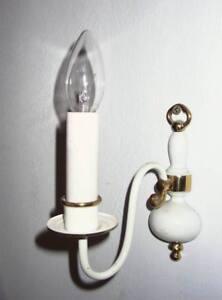 Wandleuchter einflammig / Wandlampe