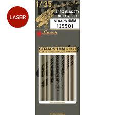 135501 HGW Belts (LASER) - Straps 1mm 1:35