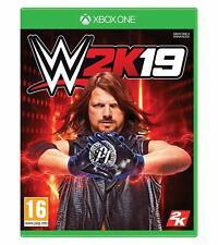 Wwe 2K19 Lucha libre Juego Excelente Estado Xbox One Envío rápido