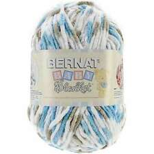 Bernat Baby Blanket Yarn in Teal Dove 300 Gram Skein Super Bulky Yarn