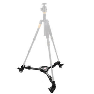 Universal Professional Photo Video Camera Camcorder Foldable Tripod Dolly